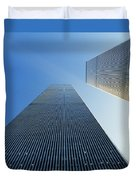 Twin Towers Duvet Cover by Jon Neidert