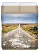 Twin Towers Road Duvet Cover
