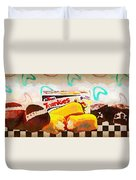 Twinkies Cupcakes Ding Dongs Gone Forever Duvet Cover