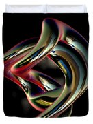 Twisted Abstract 2 Duvet Cover