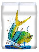 Twisted Mahi Duvet Cover
