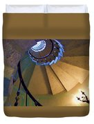 twisted stairs Vizcaya Duvet Cover