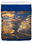 Twisted Sunset Duvet Cover