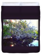 Twisted Tree Duvet Cover by Carey Chen