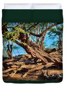 Twisting Trees Duvet Cover