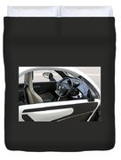 Twizy Rental Electric Car Side And Interior Milan Italy Duvet Cover