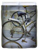 Two Bicycles Duvet Cover
