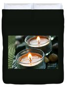 Two Candles Duvet Cover