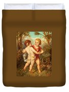 Two Cherubs Duvet Cover