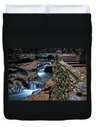 Two Kinds Of Steps Duvet Cover by Frozen in Time Fine Art Photography