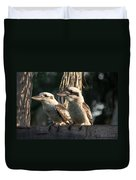 two Kookaburra Duvet Cover