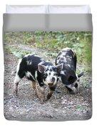 Two Little Pigs Duvet Cover