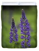 Two Lupine Duvet Cover