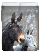 Two Mules For Sister Sara Duvet Cover