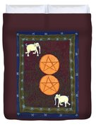 Two Of Pentacles Duvet Cover