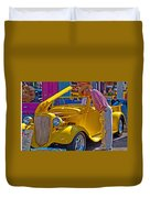 Two Old Timers  Duvet Cover