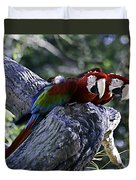Two On A Branch Duvet Cover