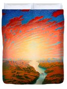Two Rivers Duvet Cover