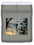 Two Sides Of The Fence Duvet Cover