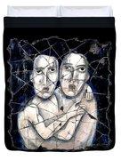 Two Souls Duvet Cover