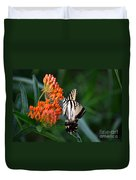 Two-tailed Swallowtail Duvet Cover