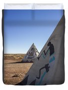 Two Teepees Duvet Cover