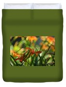 Two Tiger Lillies...   # Duvet Cover