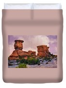Two Towers Duvet Cover