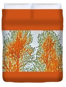 Two Trees Duvet Cover