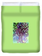 Two Trees Twining Duvet Cover