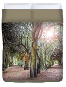 Two Tunnels Taxus Duvet Cover
