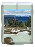 Two Waters Duvet Cover