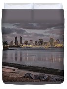 Two Worlds Duvet Cover