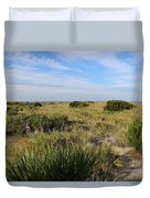 Tybee Island Dunes And Path Duvet Cover