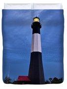 Tybee Island Evening Light Duvet Cover
