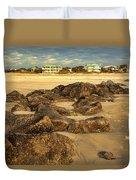 Tybee Island Landscape Duvet Cover