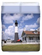 Tybee Island Light Duvet Cover