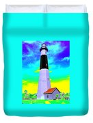 Tybee Island Lighthouse - Photopower Duvet Cover
