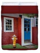 Typical Rockport Massachusetts Duvet Cover