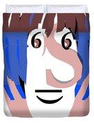 Typortraiture Ringo Starr Duvet Cover