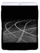 Tyre Tracks Duvet Cover