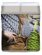 Tyrolean Man Duvet Cover