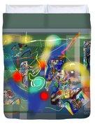 Tzadik 6 A Duvet Cover