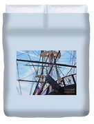 An Aspect Of The U S S Constellation, Baltimore Duvet Cover