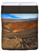 Ubehebe At Death Valley Duvet Cover