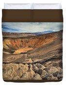 Ubehebe Crater Duvet Cover