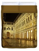 Uffizi Gallery Florence Italy Duvet Cover