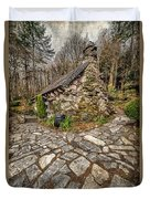 Ugly Cottage Duvet Cover by Adrian Evans