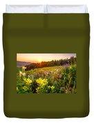 Uinta Wildflowers Duvet Cover