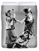 Ukrainian Folk Dancers Duvet Cover